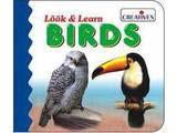 Creative's Look & Learn Board Book - Birds
