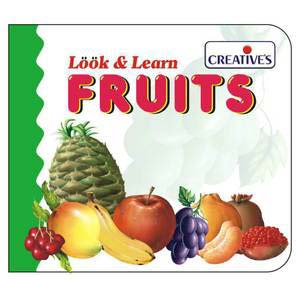 creative look and learn board book fruits