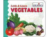 Creative's Look & Learn Board Book - Vegetables
