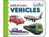 Creative's Look & Learn Board Book - Vehicles