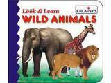 Creative's Look & Learn Board Book - Wild Animals