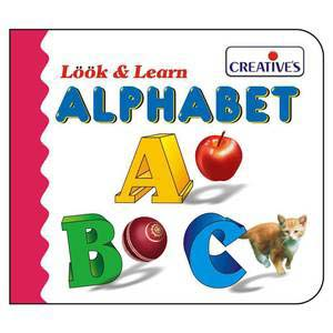 creative look and learn board books alphabet