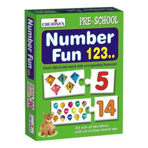 creative number fun one two three