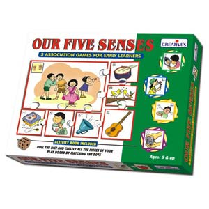 creative our five senses