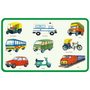 creative play and learn land transport