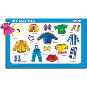 creative play and learn my clothes
