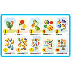 creative play and learn numbers