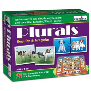 creative plurals regular and irregular