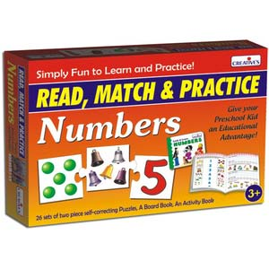 creative read match and practice numbers new