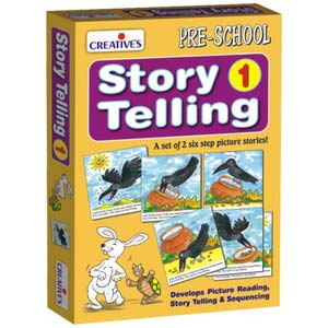 creative story telling step by step 1 6 steps