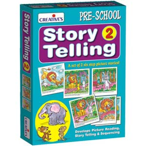 creative story telling step by step 2 6 steps