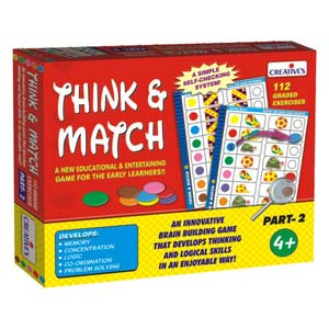 creative think and match two
