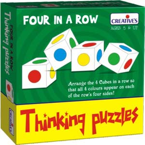creative thinking puzzles four in a row