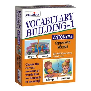 creative vocabulary building antonyms
