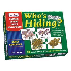 creative whos hiding