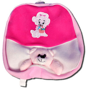 cute pink teddy bag