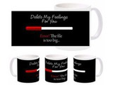 Delete Feelings Bk Mug