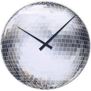 disco designer clock from nextime 8124