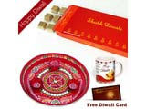 Diwali Chocolates with Mug for Brother on Bhaidooj and Pooja Thali