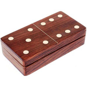 dominos game in a box wooden games