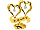 DOUBLE HEART (WITH CONGRATULATIONS)