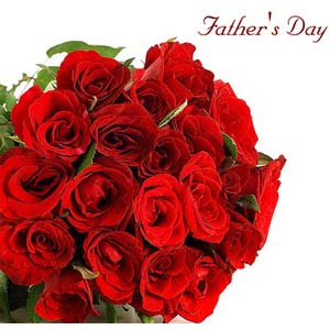 fathers day 20 red rose