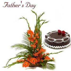 fathers day blooming baskets