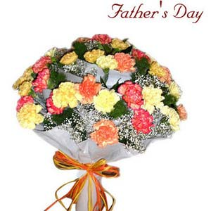 fathers day charm of carnations
