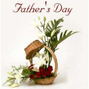 fathers day fragrant basket