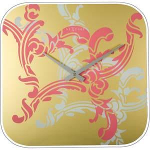 fickle designer clock from nextime 8617rz