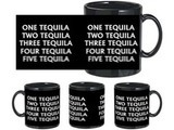 Five Tequila Black Mug