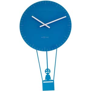 flying time designer clock from nextime 8145bl