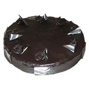 fresh chocolate five star bakery cake