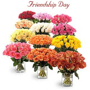 friendship day fnp entire roses from garden exfd24