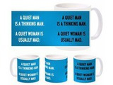Funny Man Woman Mug