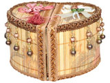 Handmade Jewellery Box in Heart Shape
