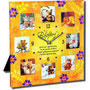 happy birthday quotation clock with 8 photos frame