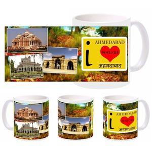 i love ahmedabad mug
