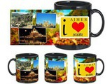 I Love Ajmer Black Mug