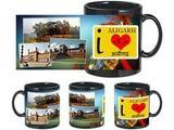I Love Aligarh Black Mug