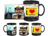 I Love Allahabad Black Mug