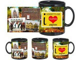 I Love Amritsar Black Mug