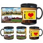 I Love Banglore Black Mug - image
