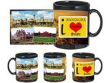 I Love Banglore Black Mug