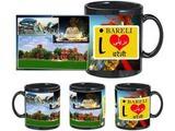I Love Bareli Black Mug