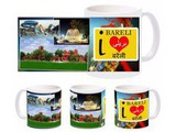I Love Bareli Mug