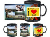 I Love Bhiwandi Black Mug