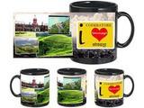 I Love Coimbatore Black Mug