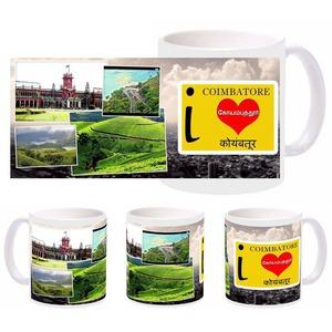 i love coimbatore mug