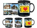 I Love Davanagere Black Mug